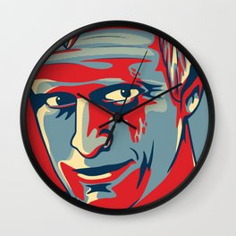 "Roy Batty ""Hope"" poster Wall Clock"