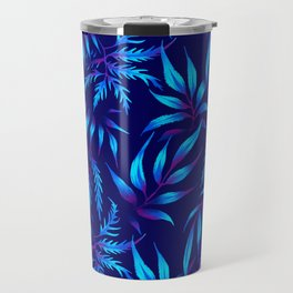 Brooklyn Forest - Blue Travel Mug
