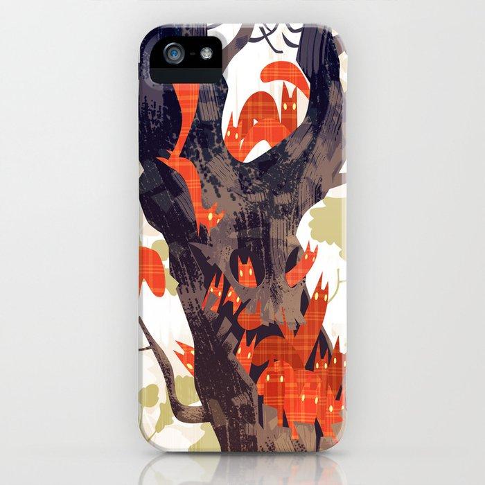 The Devils of Dark Bark iPhone Case
