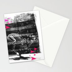 speed runner Stationery Cards
