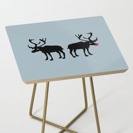 Angry Animals: Rudolph & Prancer Side Table