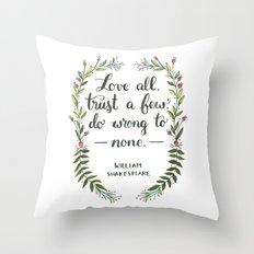 Love All Throw Pillow