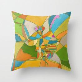Mantis V2 Throw Pillow