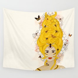The Queen Bee Wall Tapestry