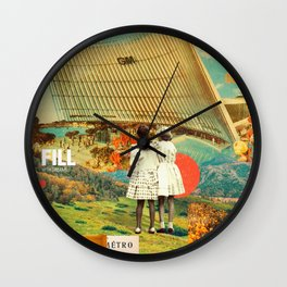 They Know Better Wall Clock