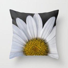 Late summer Daisy Throw Pillow