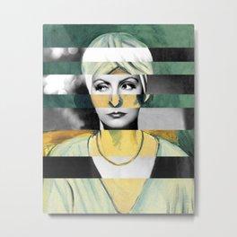 """Matisse's """"Woman in Turban"""" & Greta Garbo Metal Print"""