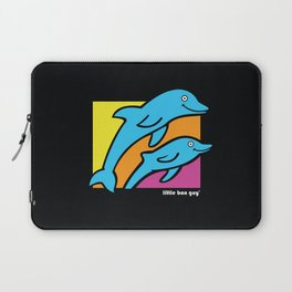 Dolphins. Laptop Sleeve