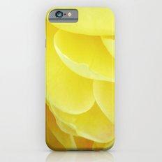 Petals in Yellow iPhone 6s Slim Case