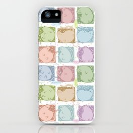 Blobby Cats iPhone Case