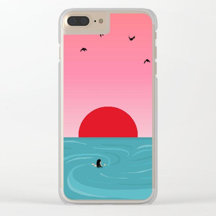 Tempus fugit Clear iPhone Case