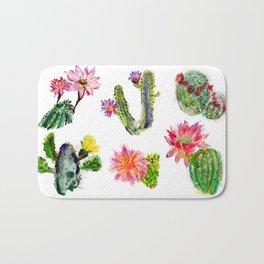 Blooming Cacti Bath Mat