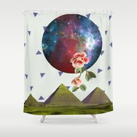 oriental Shower Curtains featuring Oriental by Nasaém