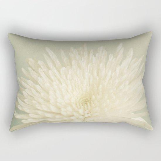 Pale Beauty Rectangular Pillow