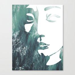 Mask 1/3 Canvas Print
