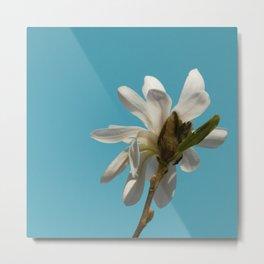Angelic Floral Metal Print