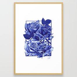 Not Roses Framed Art Print