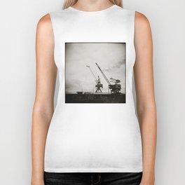{ dancing cranes } Biker Tank