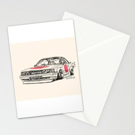 Crazy Car Art 0176 Stationery Cards