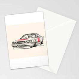 Crazy Car Art 0176 Stationery Cards