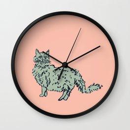 Animal Series - Cat Wall Clock