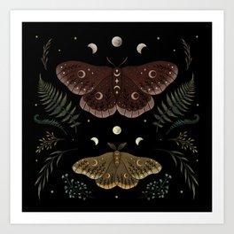 Saturnia Pavonia Art Print