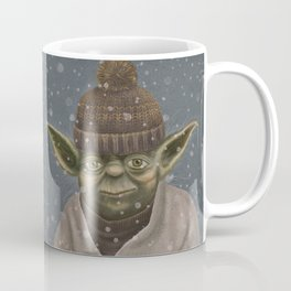 Christmas Yoda Coffee Mug