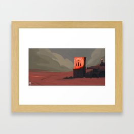 Sand Framed Art Print