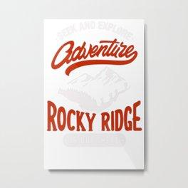 Adventure Long Sleeves Metal Print