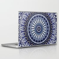china Laptop & iPad Skins featuring China Blue by Peter Gross