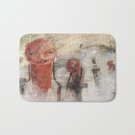 The Dead Will Walk Again Bath Mat