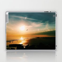 Winter Ocean Sunset Laptop & iPad Skin