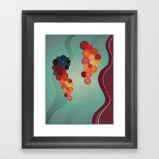 Digital Merlot 2 Framed Art Print