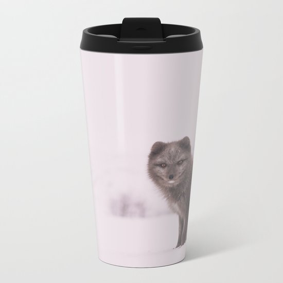 Snowy Sundays Metal Travel Mug