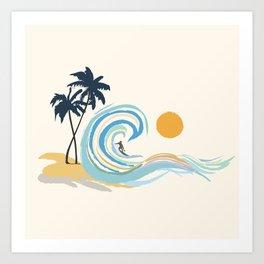 Minimalistic Summer II Art Print