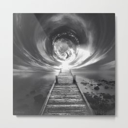 Bridge to Another Dimension Metal Print