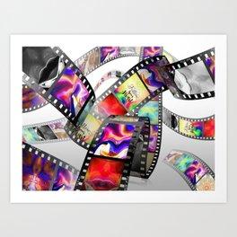 """""""Follow Your Heart"""" Film Design Art Print"""
