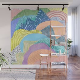 Modern Landscapes and Patterns Wall Mural