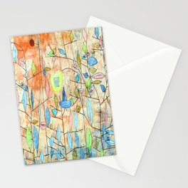Paul Klee Sparse Foliage Stationery Cards