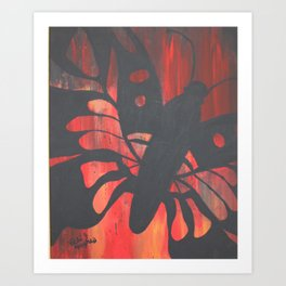 """monarch daydream"" Art Print"