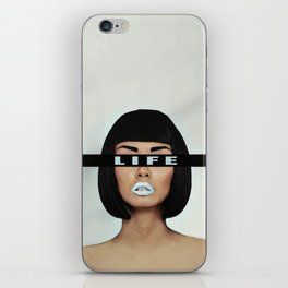 Life is Life iPhone Skin