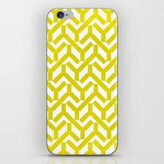 Yellow Geometry Pattern iPhone & iPod Skin