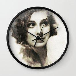Valerie Hobson Wall Clock