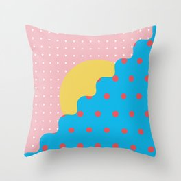 Memphis Style N°6 Throw Pillow