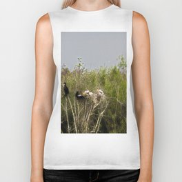 Anhinga Family Tree Biker Tank