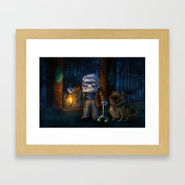 Carl&Dug's HM Adventures Framed Art Print