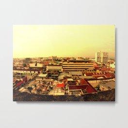 Guatemala zona 1. Metal Print