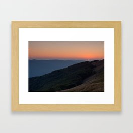 Bieszczady Framed Art Print