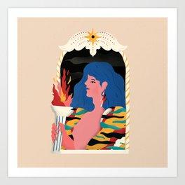 RAINHA Art Print