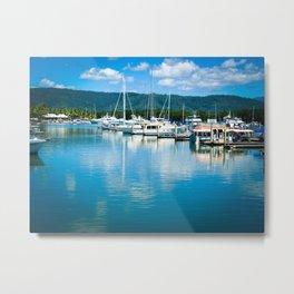 Port Douglas Marina Metal Print